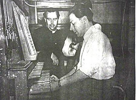 AULA DE CARRILHÃO - 1951